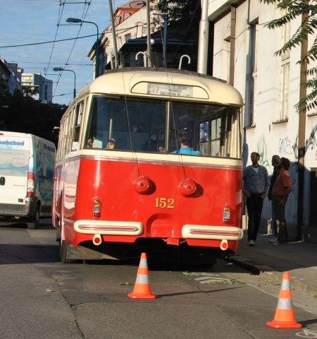 Autobus historický kus, Bratislava nakrúcanie filmu