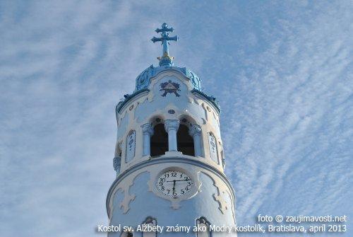 Modrý kostolik v Bratislave