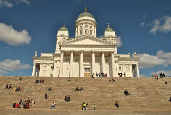Helsinki Katedrala, Helsinki Fínsko