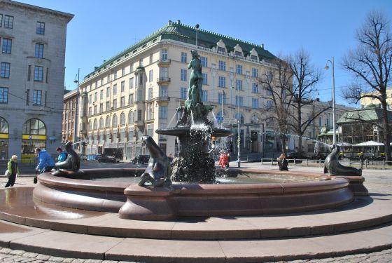 Fontána Helsinki Havis Amanda