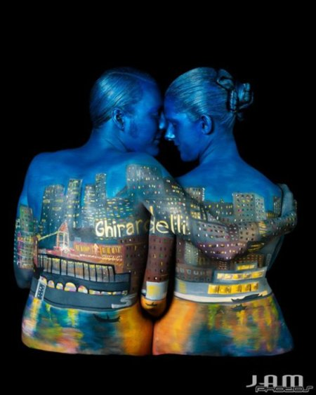tracy Merry bodypainting