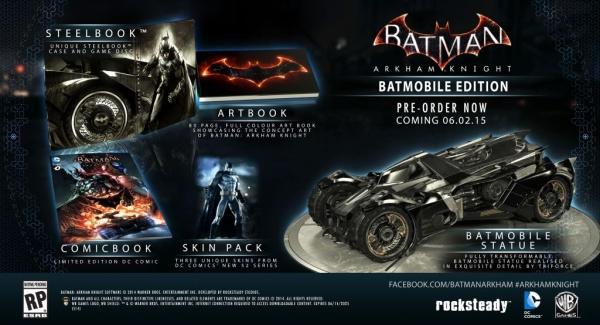 Collectors Edition Batmobile
