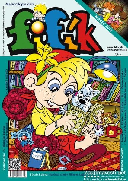 Časopis Fifík staré vydanie 2014