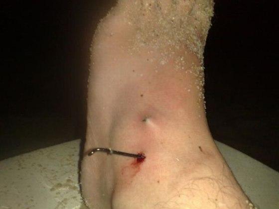 Fail rybačka háčik au