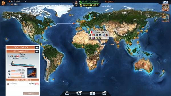 TransOcean simulator