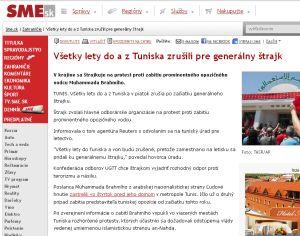 Tunisko a Pluska, klamlivé informácie