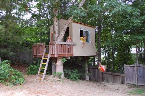 Domčeky na strome