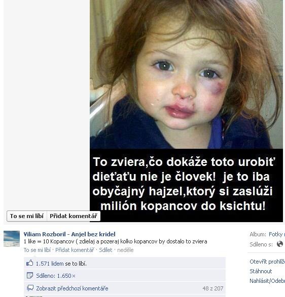 Klamstvo a falošné stránky Vila Rozborila