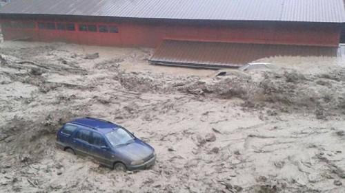 Záplavy Vrátna dolina