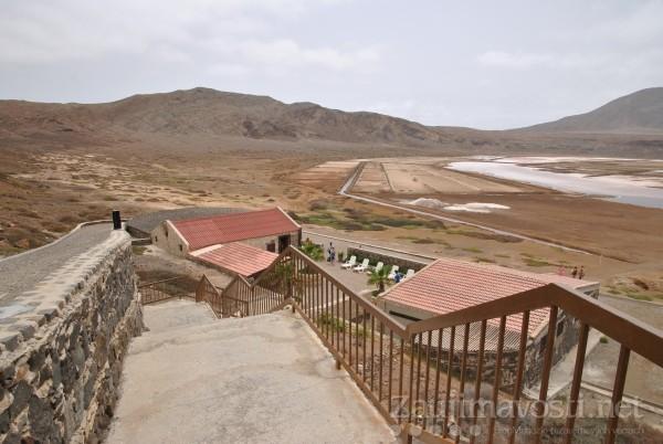 Sopka Salinas a kúpanie na ostrove Sal, Cabo Verde