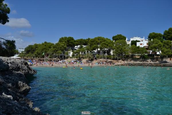 Pláž pri hoteli Aparthotel Ariel