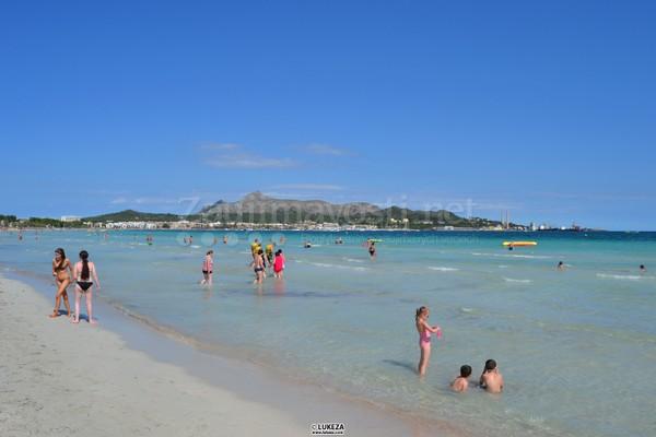 Pláž pri hoteli Boccacio na Malorke