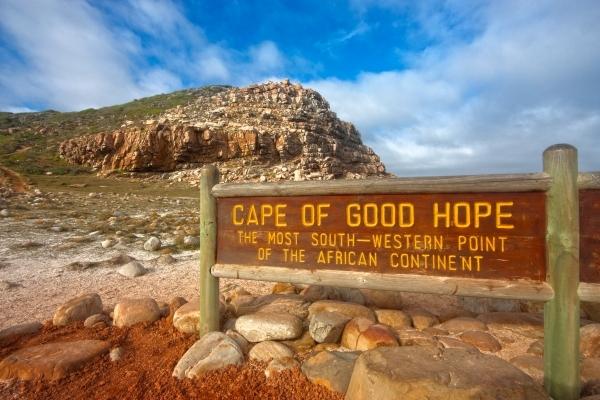 Mys Dobrej nádeje, Juhoafrická republika