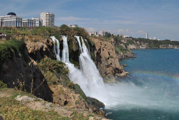 Vodopády Antalya