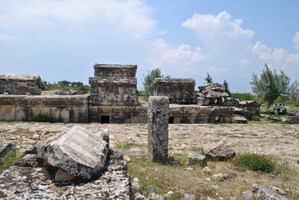 Pohrebisko v Hierapolise, Turecko