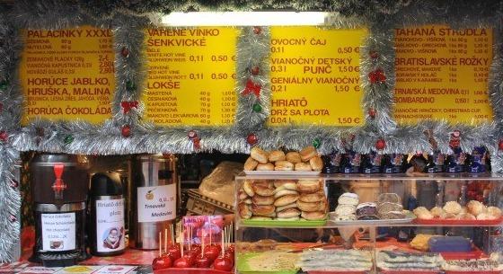 Vianočné trhy v Bratislave 2012
