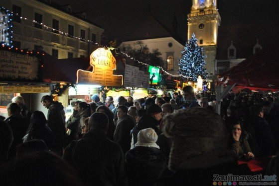 Vianočné trhy Bratislava 2012