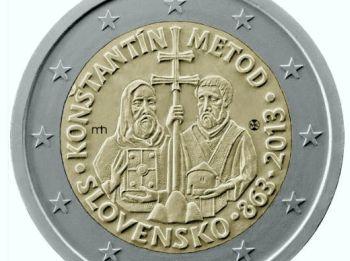 2 Eurová minca, Cyril a Metod