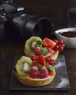 Gurmánska fotografia, fotografovanie jedla