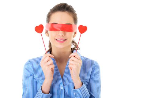 Zaslepené dievča a láska na blind