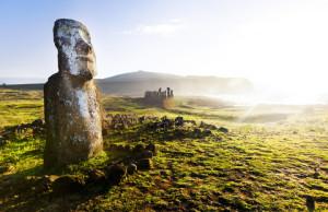 Veľkonočný ostrov Moai