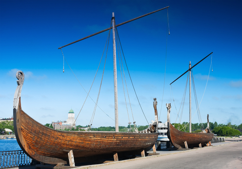 Vikingovia, loď, Škandinávci