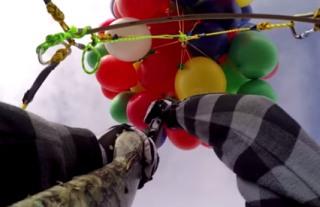 Balón puška adrenalín