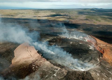 Sopka kráter