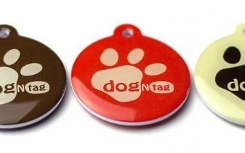 DogNtag identifikačná známka pre psa