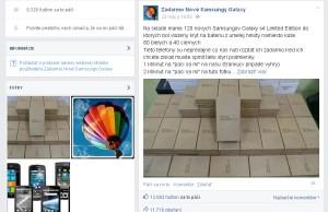 Podvod na Facebooku - falošná súťaž