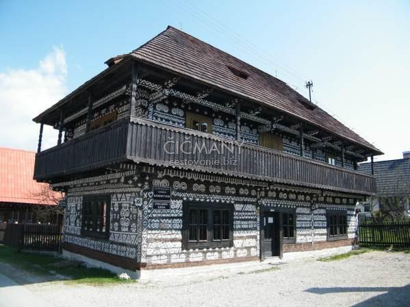 Čičmany, Radenov dom