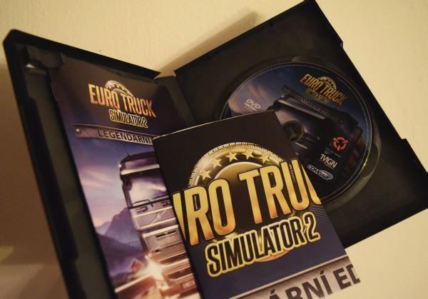 Euro truck simulator 2 legendárna edícia