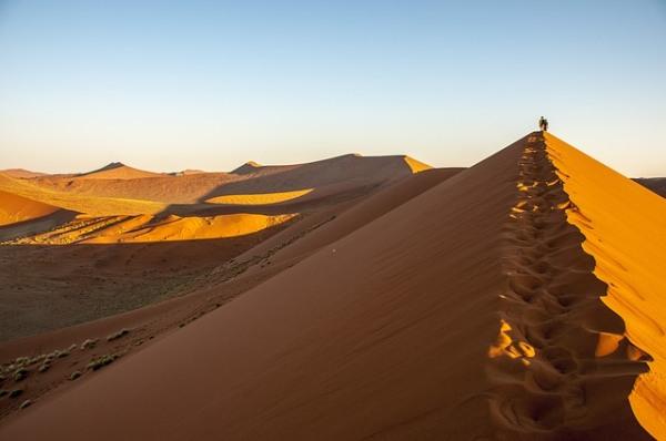 Namíbia a púšte sveta v článku Zaujímavostí