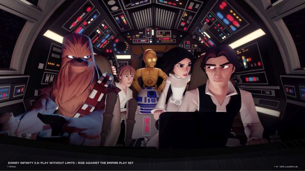 Star Wars v Disney Infinity 3