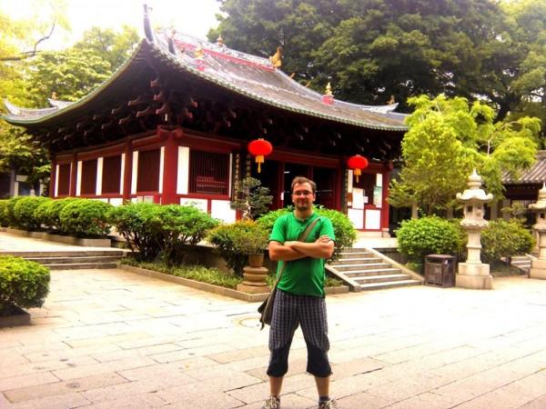 Jeden z budhistických chrámov v Guangzhou.