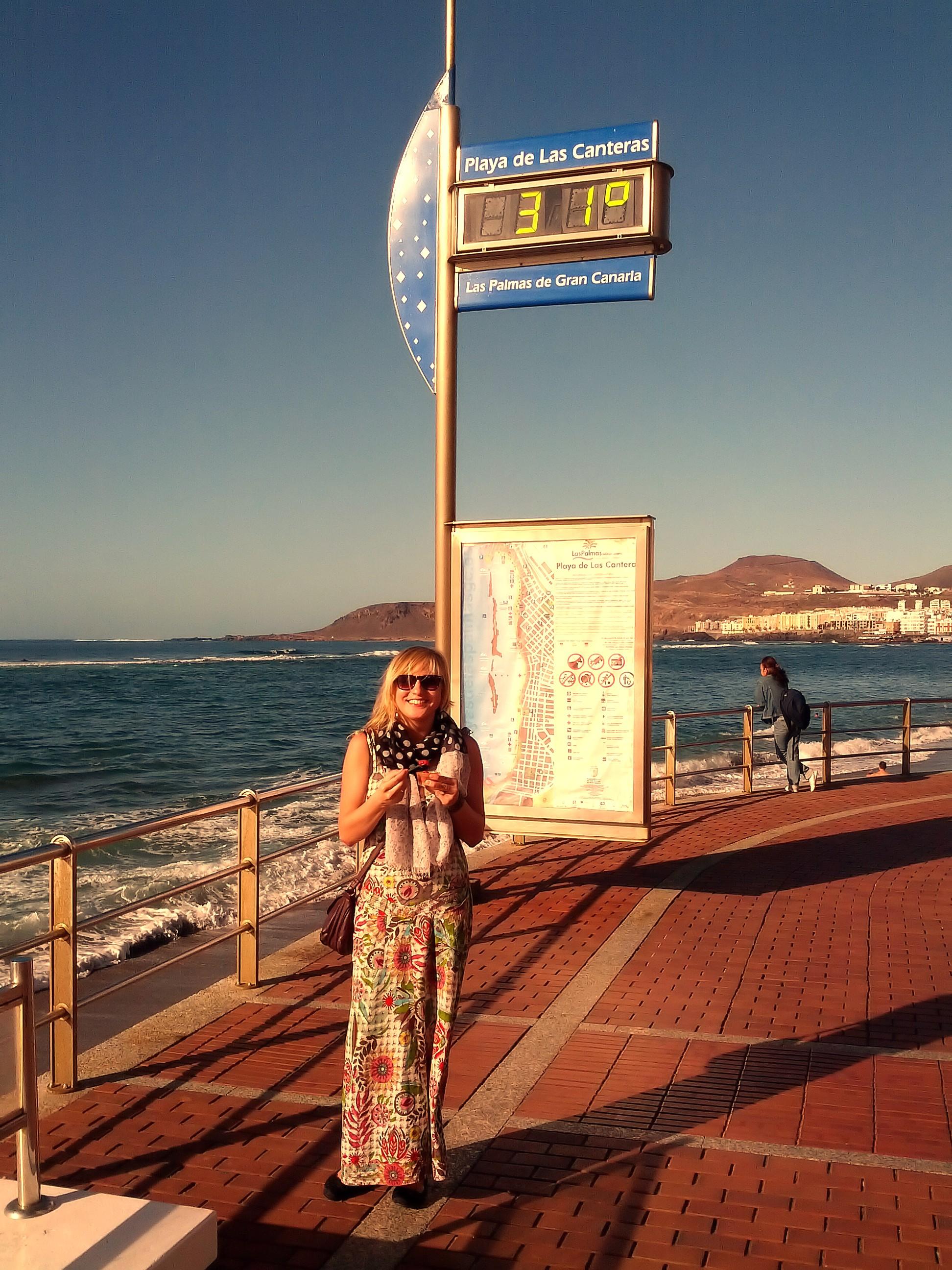 Lenka Papřoková -31 stupňů a Gran Canaria v lednu 2014