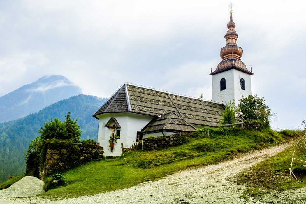 Kostol Sv. Oswalda v Jezersku