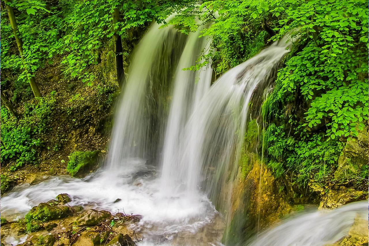 Najkrajšie slov. vodopády - len ilustračný obrázok