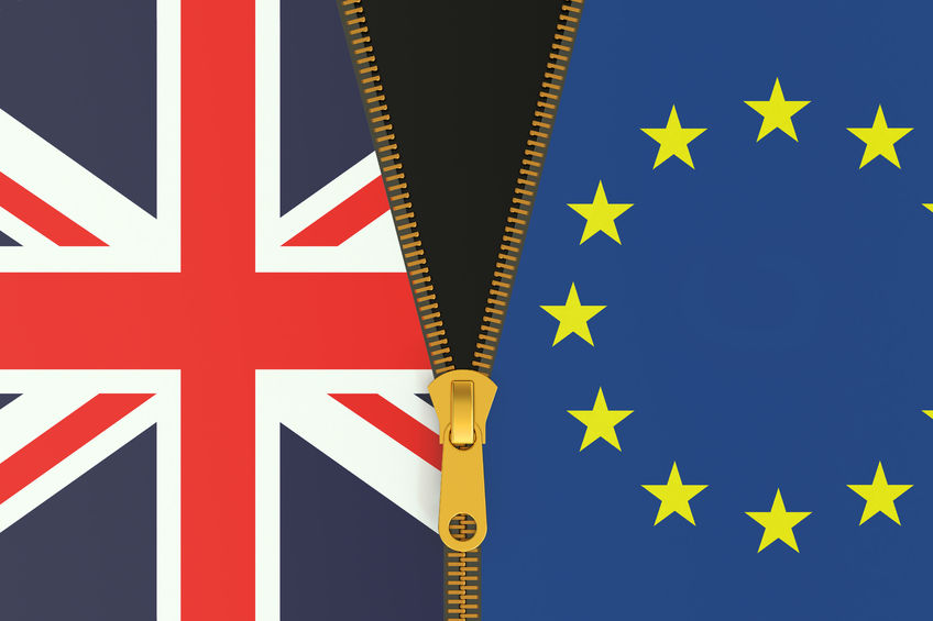 53849471 - great britain and eu, brexit referendum concept