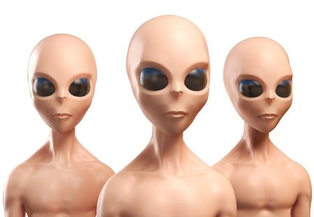 46059810 - aliens 3d illustration
