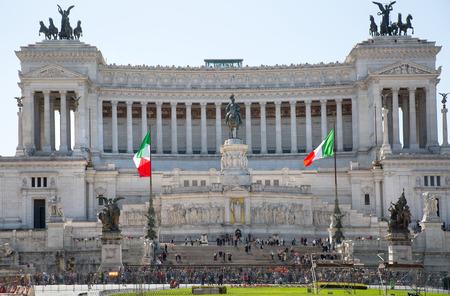 61310624 - rome, italy - april 9, 2016: altar of the fatherland (altare della patria) 1925. piazza venezia . vittorio emanuele ii in rome, italy