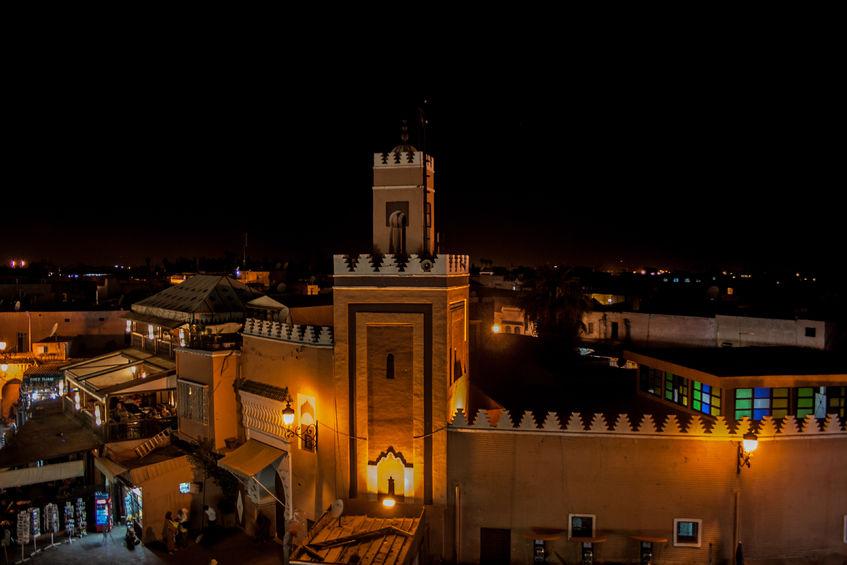 65685352 - marrakech by night