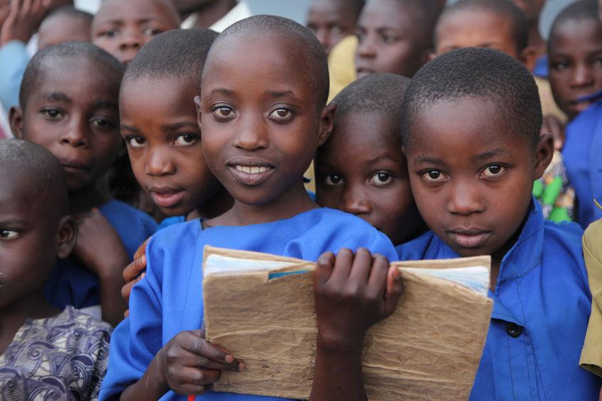 51774651 - children at school, africa