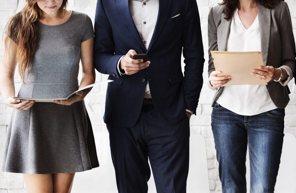53124282 - human resources interview recruitment job concept