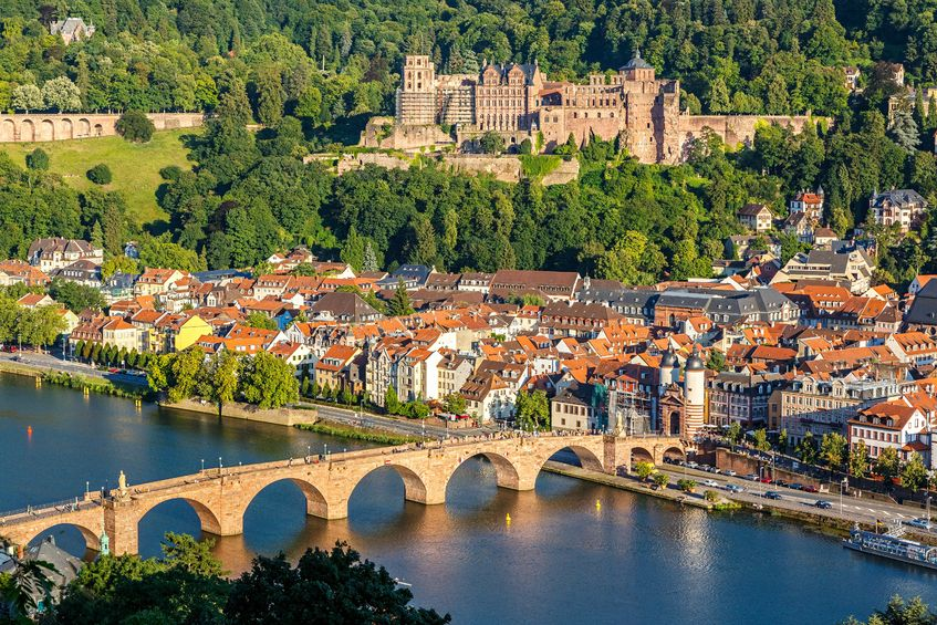 21987282 - view on heidelberg, germany