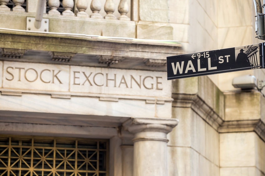 39676727 - wall street sign in new york city