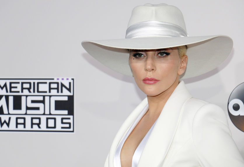 65920080 - lady gaga at the 2016 american music awards held at the microsoft theater in los angeles, usa on november 20, 2016.