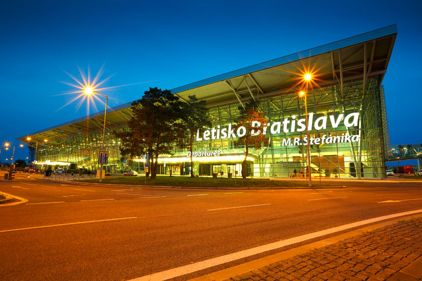 40957476 - terminal building of the bratislava airport in slovakia