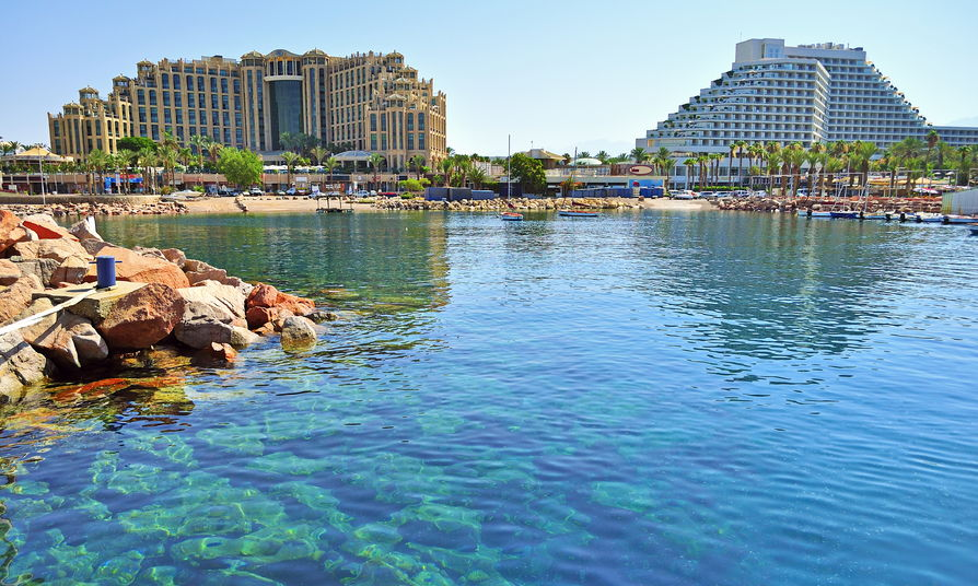 51798802 - eilat - a resort town on the red sea