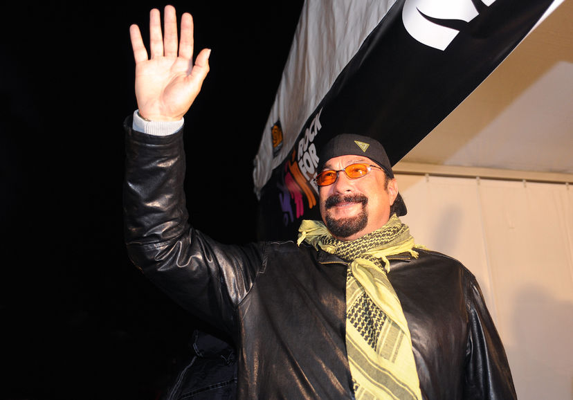 73074082 - hradec kralove, czech republic - july 3, 2014: famous american actor and musician steven seagal at rock for people festival in hradec kralove, czech republic, july 3, 2014.